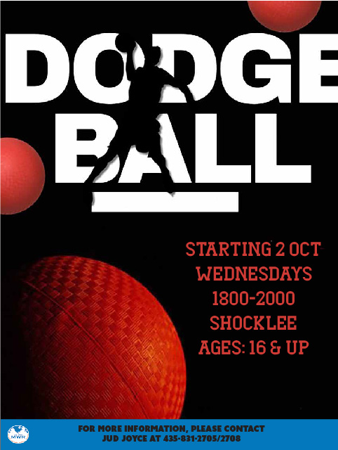 Dodgeball Night at SFA