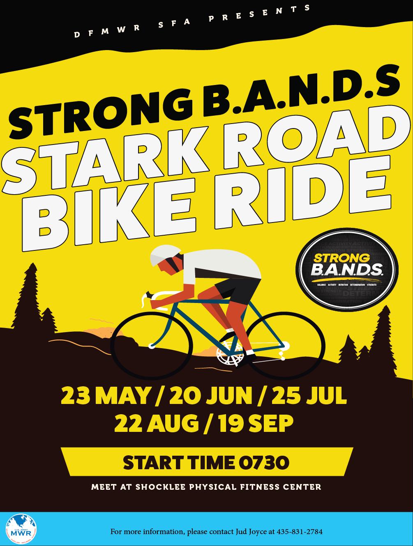 Strong B.A.N.D.S Stark Bike Ride