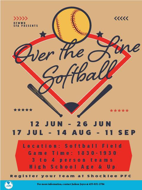 Over the Line Softball